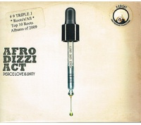 Afro Dizzi Act - Peace, Love & Unity CD